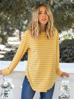 The Mia Top - Yellow