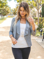 The Rae Blazer - Gray