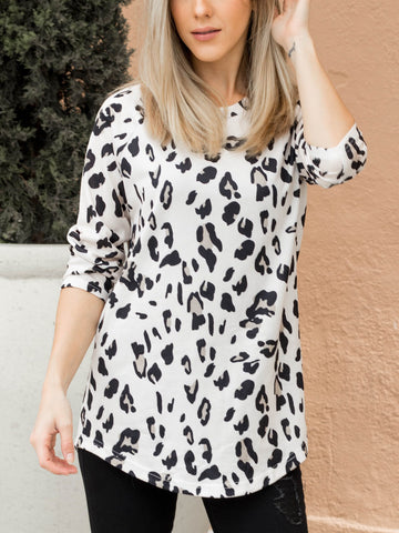 The Beth Top -3/4 Sleeve