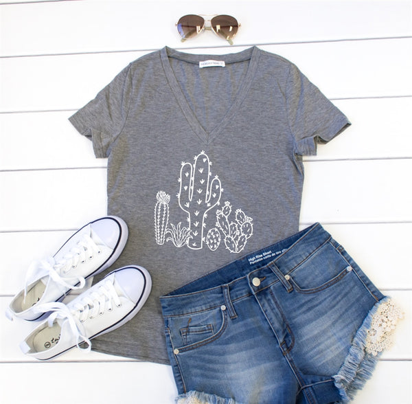 Cactus Tshirt - Tickled Teal LLC
