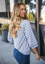 Esme Top - Gray