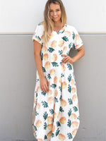 Pineapple Relaxed Maxi Dress