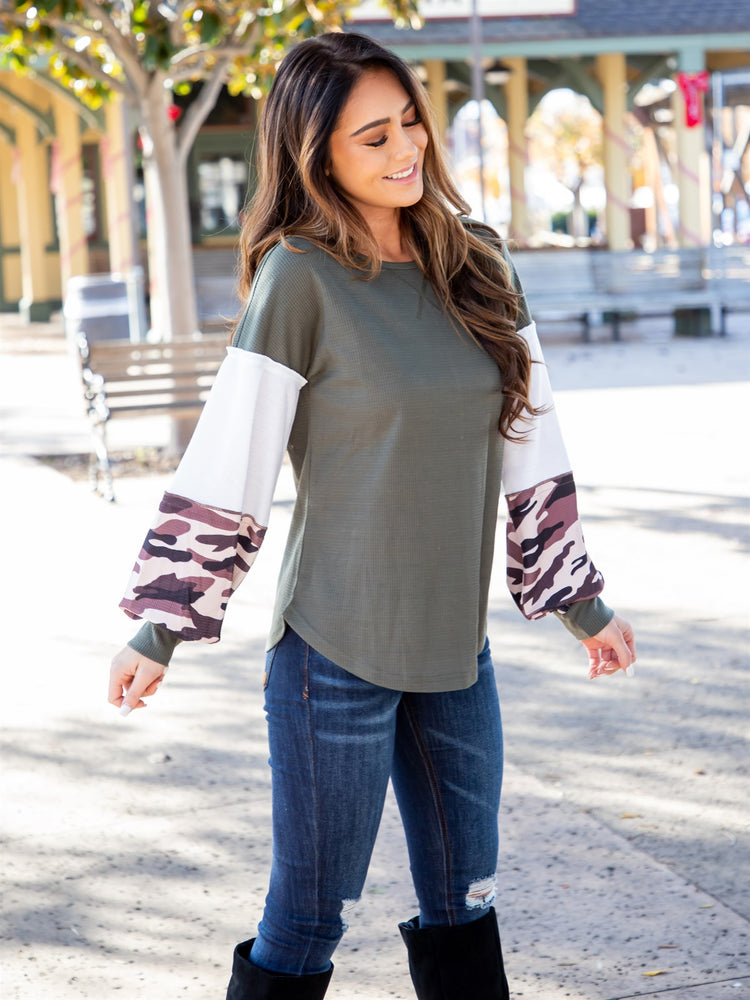 Ruth Top - Olive