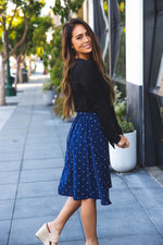 The Eden Skirt - Navy