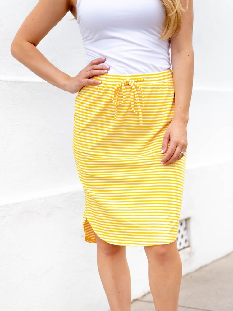 Mabel Weekend Skirt - Yellow