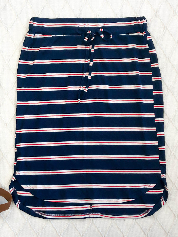 Elena Weekend Skirt - Navy
