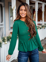 Molly Top - Forest Green
