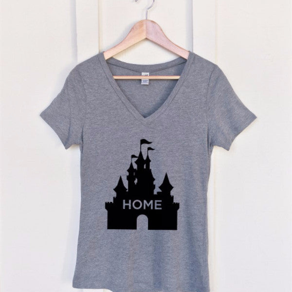 Home Castle Tshirt - Tickled Teal LLC