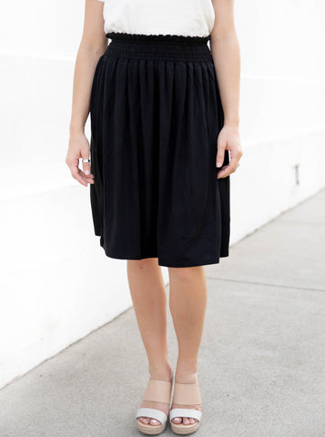 The Tracie Skirt - Black