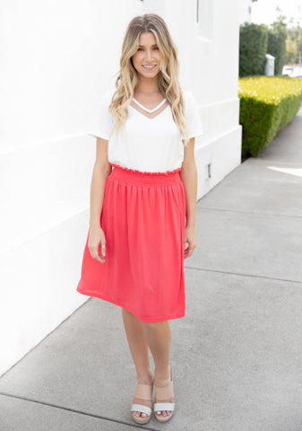 The Tracie Skirt - Pink