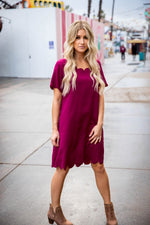 The Shea Dress - Fuchsia