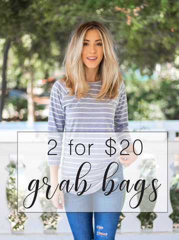 2 for $20 Grab Bags - Tops