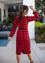 The Levi Dress - Red