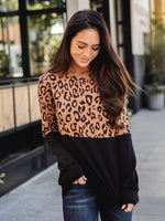 The Lex Top - Brown Leopard