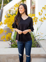 The Emerson Top - Black