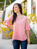 The Emerson Top - Pink