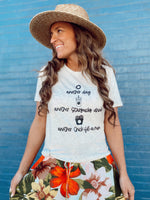 Another Day Graphic Tee - @SavvySkirtGirl