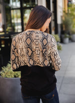 The Lex Top - Brown Python