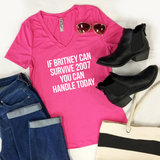 If Britney Can Survive 2007 Tshirt