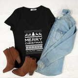 Merry Christmas Ya Filthy Animal Tshirt - Tickled Teal LLC