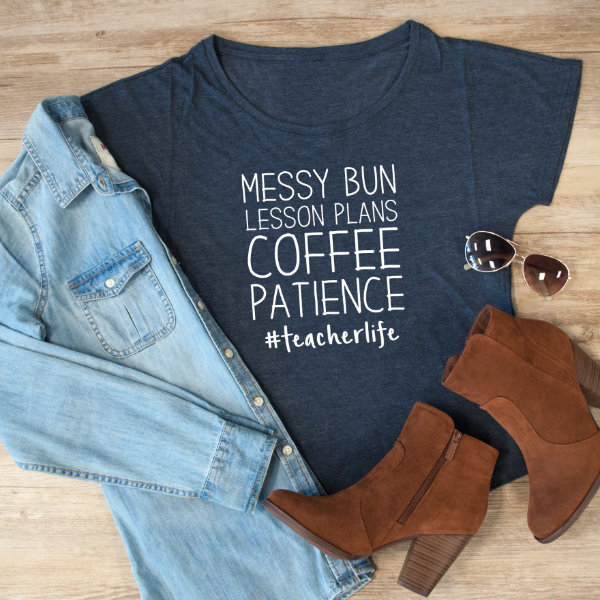 Messy Bun Lesson Plan Coffee Patience Dolman