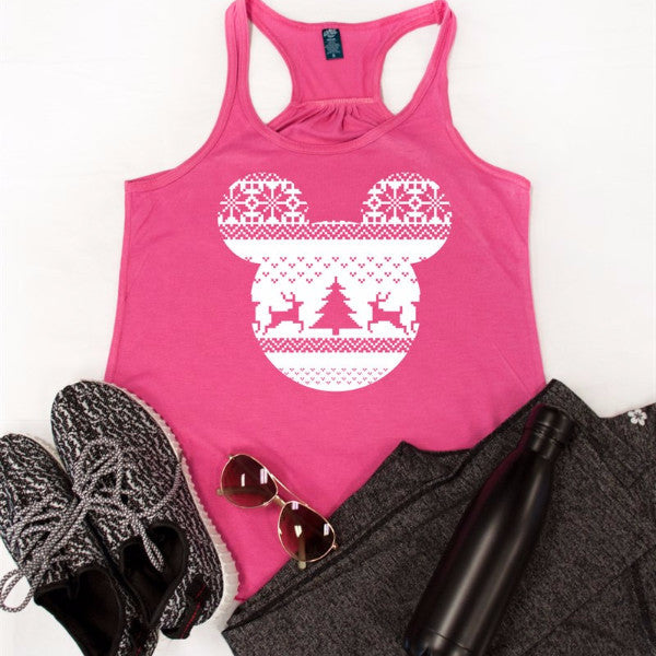 Disney Magical Winter Tank - Tickled Teal LLC