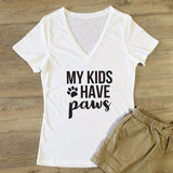 My Kids Have Paws Tshirt