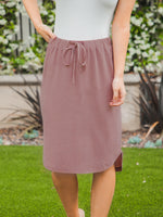 Weekend Skirt - Mocha Brown