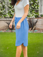 Weekend Skirt - Dusty Blue