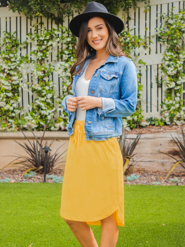 Weekend Skirt - Yellow