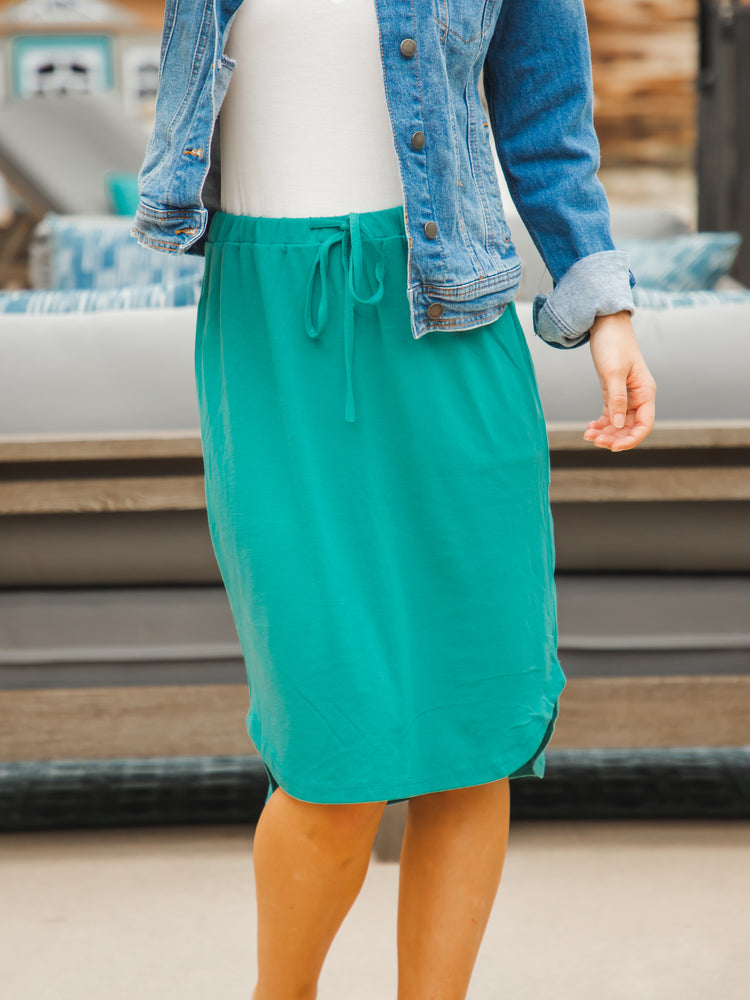 Weekend Skirt - Teal