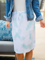 Watercolor Weekend Skirt - Mint