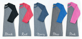 Love Raglan Tee - Tickled Teal LLC