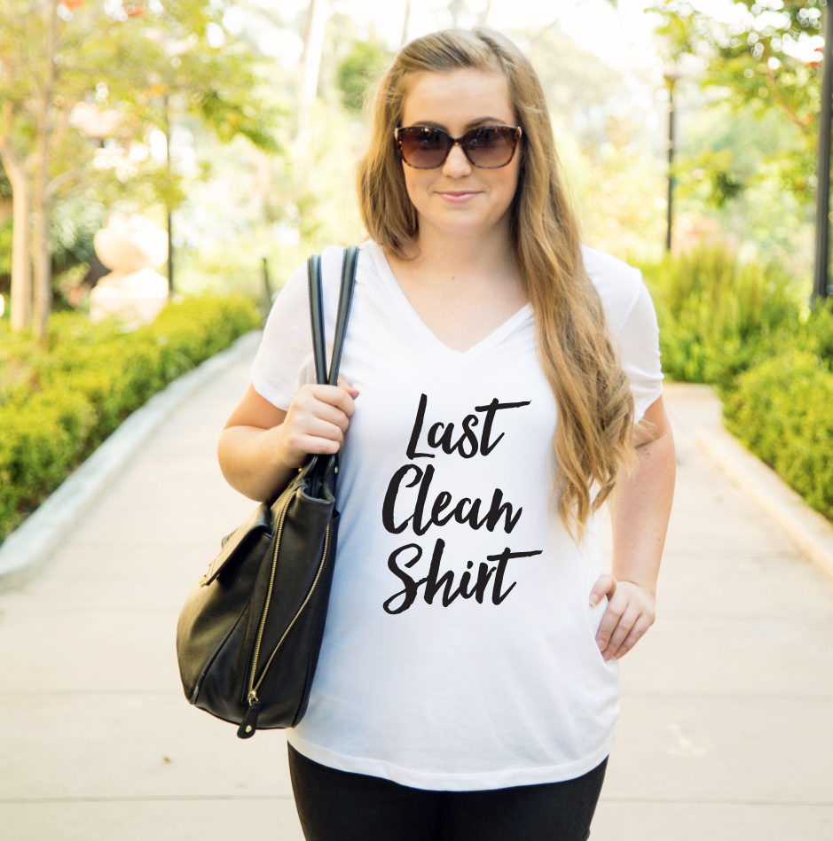 Last Clean Shirt Tshirt - Tickled Teal LLC