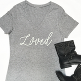 Loved Tshirt - Tickled Teal LLC