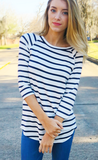 Striped Tunic - Tickled Teal LLC