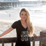 I Need Vitamin Sea Tshirt - Tickled Teal LLC