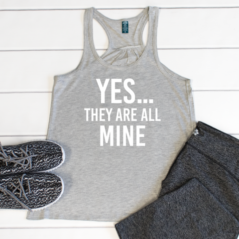 Yes they are all mine Tank - Tickled Teal LLC