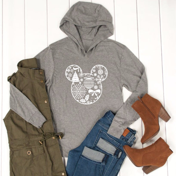 Disney Winter Graphic Hoodie - Tickled Teal LLC