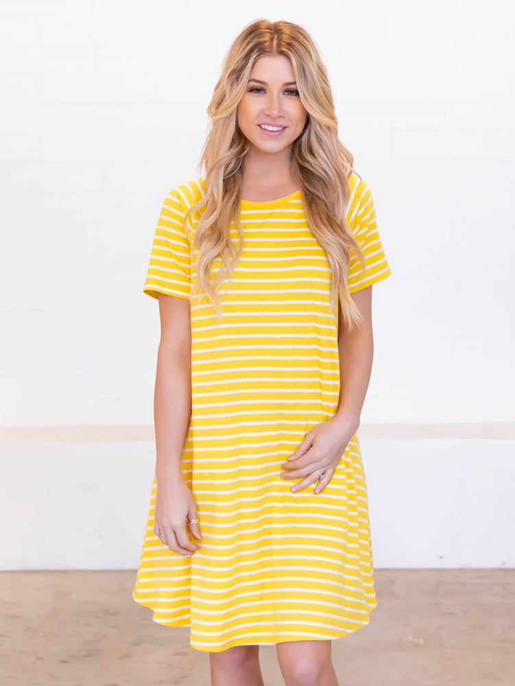The Delilah Dress - Yellow
