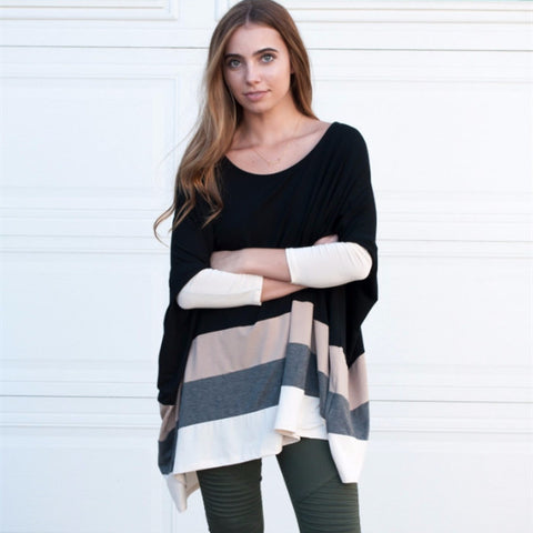 Colorblock Dolman