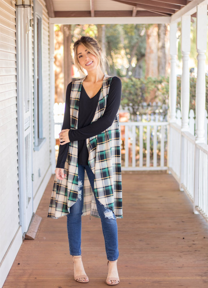 The Briley Vest - Green