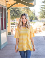 The Payton Top - Yellow
