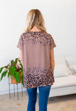Short Sleeve Marley Top - Brown
