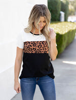 The Saylor Top - White/Black