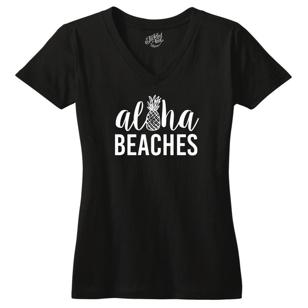 Aloha Beaches Tshirt - Tickled Teal LLC