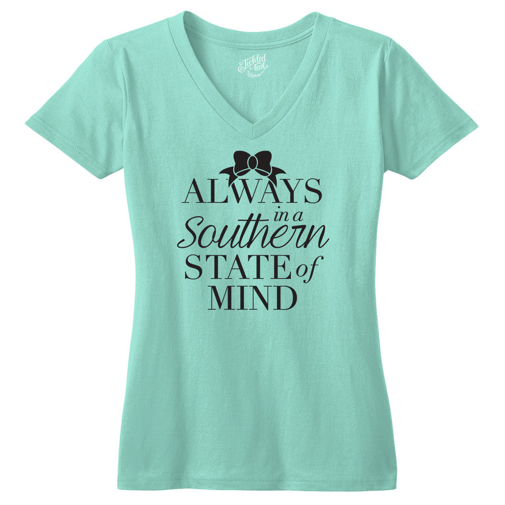 Always in a Southern State of Mind Tshirt - Tickled Teal LLC