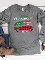 This is my Christmas Movie Watching Tshirt Graphic Tee