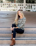 The Morgan Camo Tunic | S-3X