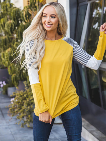 The Christy Top - Yellow